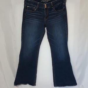 American Eagle Sz 14 Artist Stretch Jeans